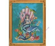 BF018  Amphitrite, Queen Goddess Of The Sea (схема)