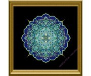 CHAT-180 The Blue Moroccan Lace Mandala (схема)