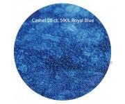 """590L """"Royal Blue"""" Кашель (с люрексом)"""