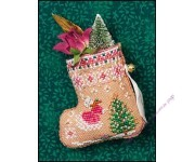 Gingerbread Mouse Fairy Stocking (схема)