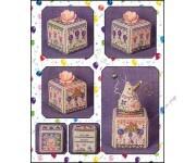 Birthday Garden Cube (схема)