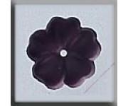 12007 5 Petal Flower Matte Amethyst 10 mm