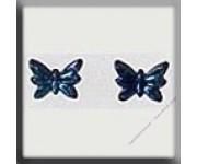 12125 Petite Butterfly Jet AB 5х4 мм