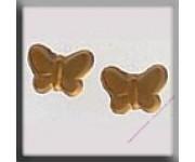 12122 Butterfly Matte Light Topaz 7,5х5,5 мм