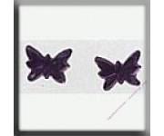 12124 Petite Butterfly Matte Light Amethyst 5х4 мм