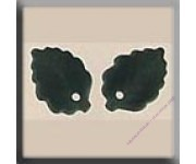 12143 Medium Leaf Matte Tourmaline