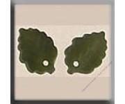 12144 Medium Leaf Matte Olive 7х10 мм