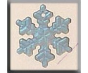 12162 Medium Snowflake Matte Crystal AB 16 мм
