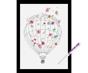 """Набор для вышивания  """"Воздушный шар"""""""