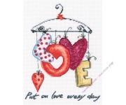 M70034 Надевайте любовь каждый день (набор)