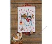 """адвент-календарь """"Снеговик и лошадь"""""""