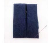 Задник наволочки на поролоне 45х45 см, синий