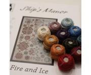 Fire and Ice (набор нитей Valdani)