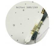 3609/1369 Белый с серыми снежинками