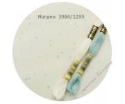 3984/1299 Молочный с мятными брызгами (Antique White Mint Splash)