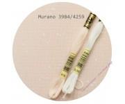 3984/4259 Пудрово-розовый с белыми брызгами (Powder Pink Splash)