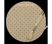 3984/7159 Бежевый в горошек цвета хаки (Beige bis & khaki dots)