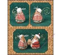 Gingerbread Mrs. Santa Mouse (схема)