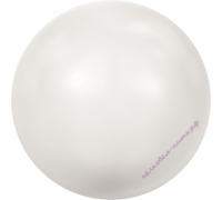 Crystal White Pearl 6 мм