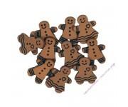 369 Имбирные печеньки / Gingerbread Cookies