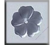 12006 5 Petal Flower Matte Sapphire 10mm