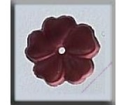 12008 5 Petal Flower Matte Rose 10 mm
