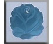 12016 Medium Rose Matte Aqua 13 мм