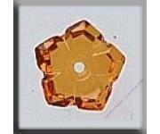 12010 5 Petal Dim Flower Topaz 10 mm