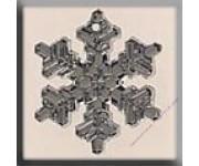 12039 Large Snowflake Crystal Bright 20 мм