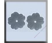 12118 Petite Flower - Matte Silver