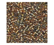 DB-981 Sparkle Lined Shades of Topaz, Gold & Pewter