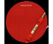 076-30 X-mas Red