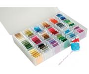 DMC 6118/6 Пластиковая коробка для хранения мулине на бобинках