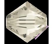 Crystal Silver Shade (001 SSHA) 4 мм