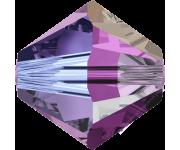 Amethyst Aurore Boreale 2x (204 AB2) 4 мм