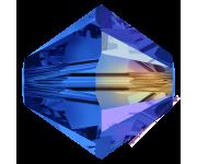 Sapphire Aurore Boreale (206 AB) 4 мм