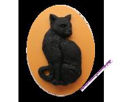 """Магнит """"Чёрная кошка"""""""