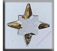 12108 Хрустальная звезда c золотыми лучиками