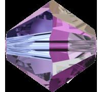 Amethyst Aurore Boreale 2x (204 AB2) 6 мм
