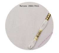 Zweigart Murano 32 ct. 3984/7011 Лунное серебро 25x35